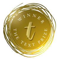 Text prize logo